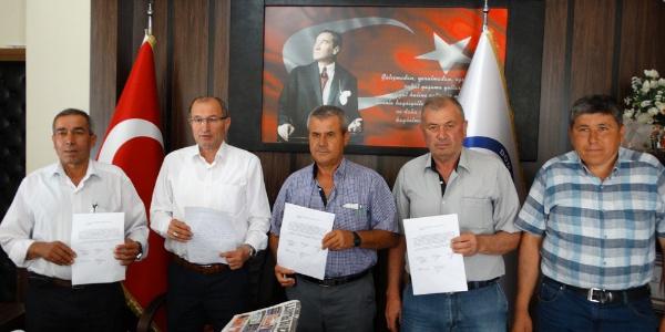 Kütahya Domaniç'te 5 köy muhtarından ortak suç duyurusu