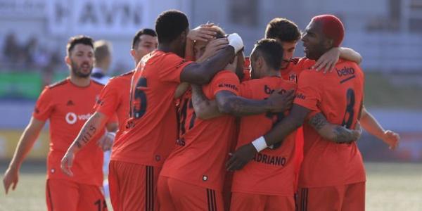 Beşiktaş, UEFA Ön Eleme'de tur kapısını aralayarak dönüyor:  0 - 2