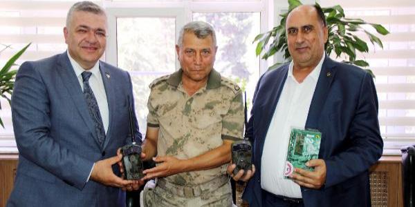 Gaziantep'te antep fıstığı hırsıza karşı fotokapanla korunacak
