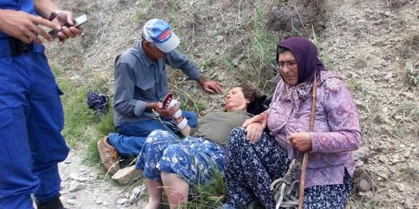 Burdur'da ekiplerin 1 haftadır aradığı kadını hayvanlarını otlatan kadın buldu
