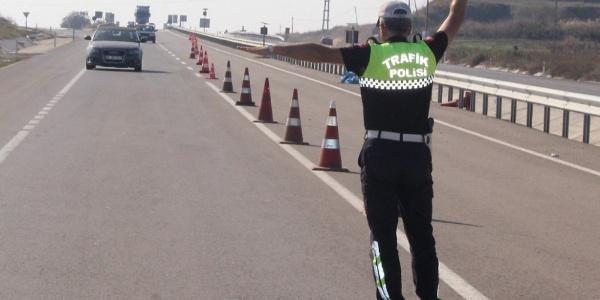 Tekirdağ'da trafik polisinin bir günlük ceza hasılatı 114 bin TL
