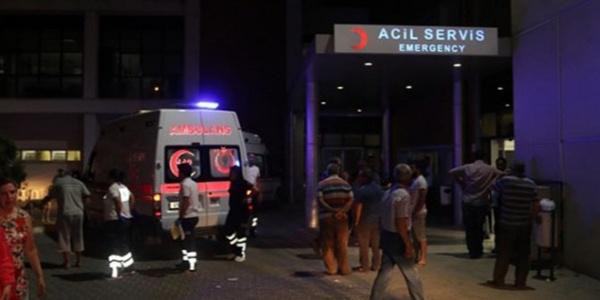 Afyonkarahisar'da 2 otomobilin karıştığı kazada 5'i çocuk 7 kişi yaralandı