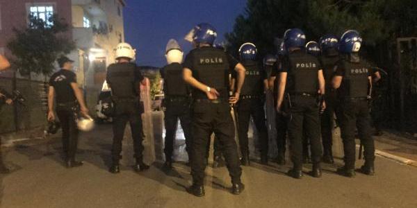 Sancaktepe'de aile arasındaki arazi kavgasına polis müdahalesi