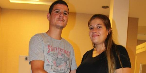 Karaciğer nakli olan kadının annelik heyecanı