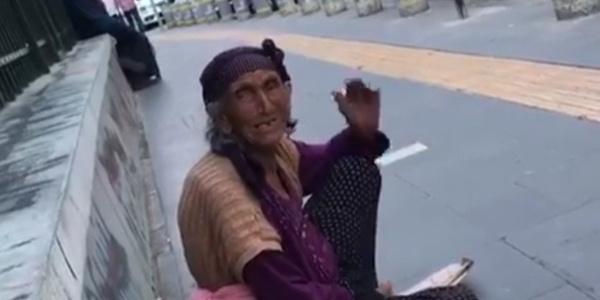 Ankara'da dilencilik yapan kadından şok itiraf: Günde 500 götürüyorum