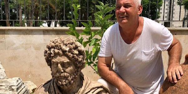 Mersin'de bulunan 1700 yıllık büst, arkeoloji tarihine ışık tutacak
