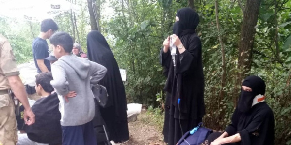 Trabzon'da Arap turistler dehşeti yaşadı: 17 yaralı