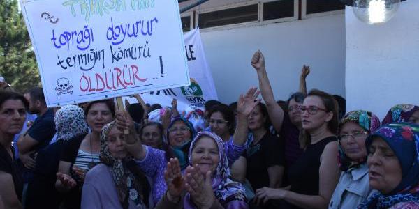 Kırklareli Ovası'na kurulaca termik santrala karşı büyük protesto