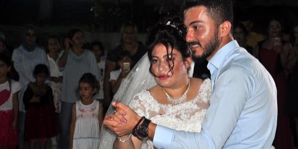 Osmaniye'de zihinsel engelli genç kızın gelinlik hayali gerçek oldu