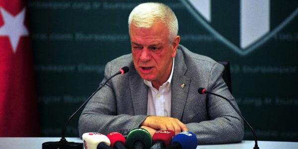 Bursaspor taraftarına  başkan Ali Ay'dan transfer müjdesi