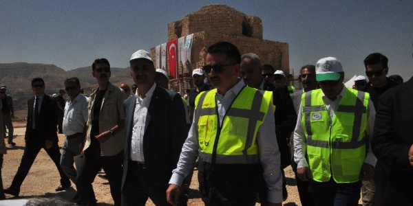 12 milyar TL maliyetli Ilısu Barajı'ında birinci kapak kapatıldı