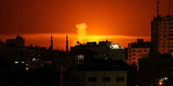 İsrail ordusu gece boyu Hamas'a füze yağdırdı