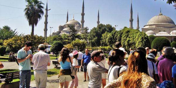 Türkiye'ye giriş yapan turist sayısında yüzde 29'luk artış