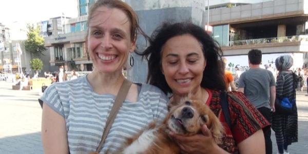 2 bin lira ödüllü kayıp köpek, Taksim metrosunda bulundu