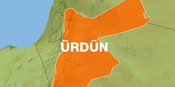 Ürdün'de güvenlik güçleri ile teröristler arasındaki çatışmada bir bina çöktü