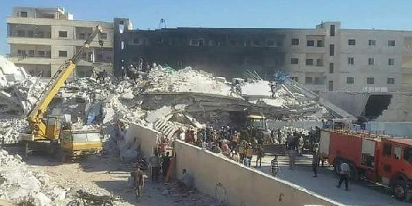 Suriye'nin İdlib kentinde patlama: 30 ölü, 45 yaralı