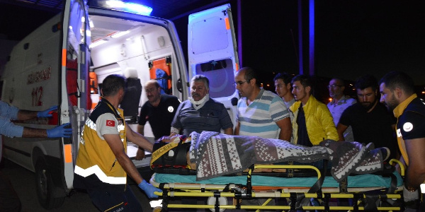 Sivas Suşehri'nde şarampole yuvarlanan araçta 4'ü çocuk 7 yaralı
