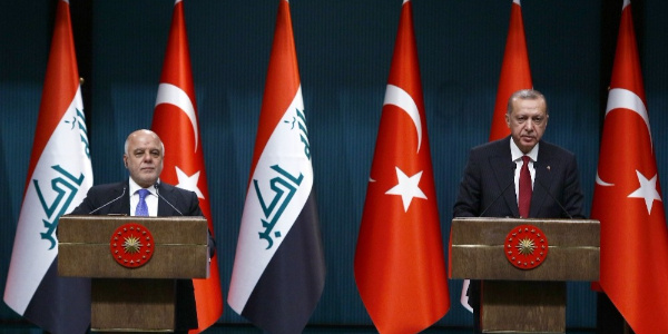 Cumhurbaşkanı Erdoğan ile İbadi'den ortak basın toplantısı