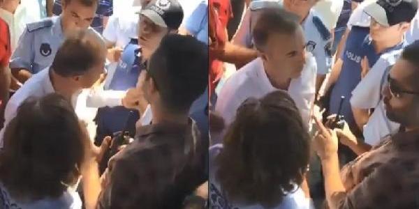 Tekirdağ'da polisi eliyle iten CHP'li Erol Yılmaz hakkında soruşturma