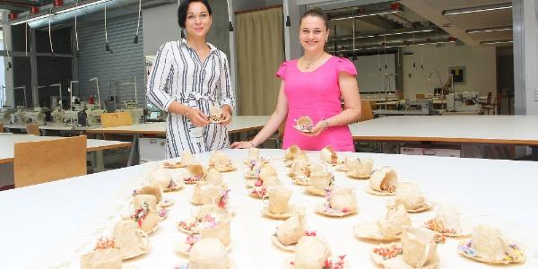 Kahve ve iğne oyaları ile  Türkiye'yi Çin'de temsil edecek