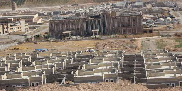 Hasankeyf'te 611 yıllık minare taşları numaralandıktan sonra sökülmeye başlandı