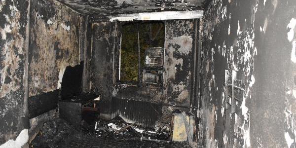 Malatya'da uçucu madde bağımlısı asker oteli yaktı