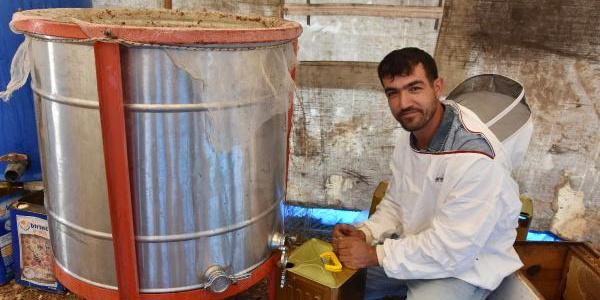 Isparta'da lavanta balını kilosu  250 liradan satışa çıkardılar