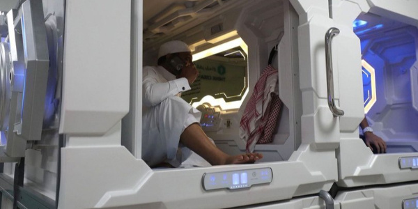 """Suudi Arabistan hacı adaylarına """"Uyku Kapsülü"""" dağıtmaya hazırlanıyor"""