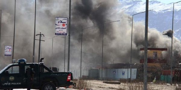 Talibandan bayram sabahı başkanlık binasına terör saldırısı