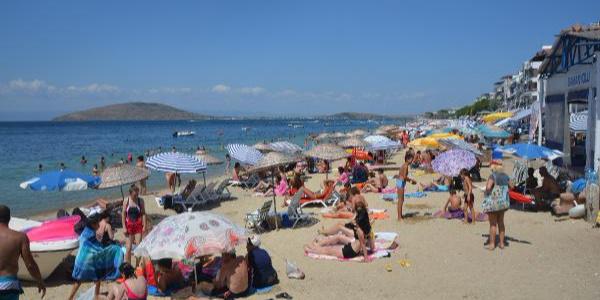 Kurban Bayramı tatilinde Avşa adası ana baba gününe döndü