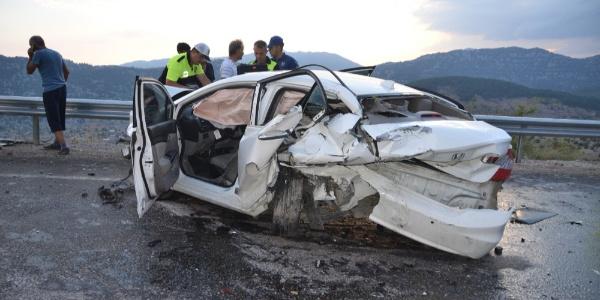 Antalya Akseki'de zincirleme kaza: 11 yaralı
