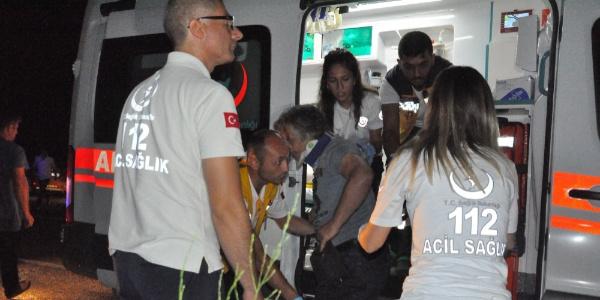 Zonguldak'ta 3 aracın karıştığı zincirleme kazada 6 kişi yaralandı