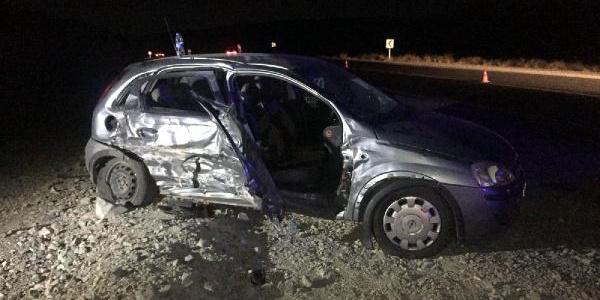 Elazığ'daki kazada hemşire öldü, 3 kişi yaralandı