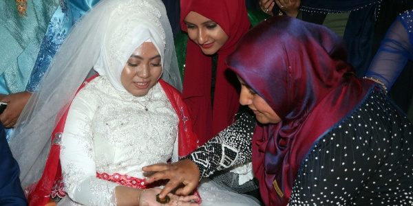 Endonezyalı geline Yozgat'ta Türk usulü düğün