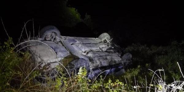 Zonguldak'ta uçuruma yuvarlanan araçtaki 1 kişi öldü, yaralı 2 kişi kayıplara karıştı