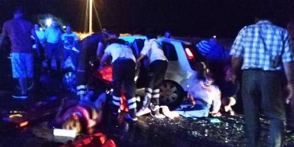 Uşak Eşme'de feci kaza: 2 ölü, 6 yaralı