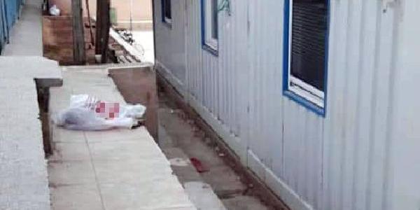 Şanlıurfa'da 1 günlük bebeği naylon poşet içinde okul bahçesine bıraktılar
