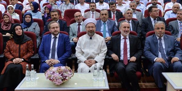 """Diyanet İşleri Başkanı Erbaş'tan teşkilata """"Bayramları aslına rücu ettirelim"""" mesajı"""