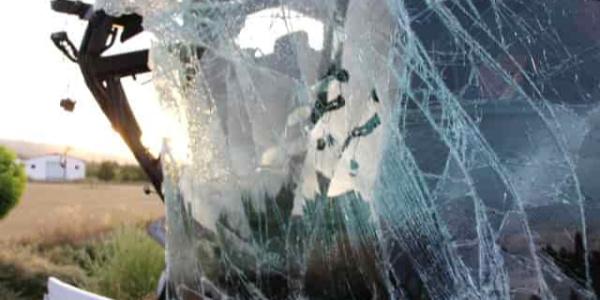 Amasya'da devrilen yolcu otobüsünde 1 kişi öldü, 12 yaralı