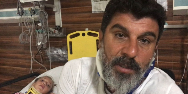 İstanbul'a ticari taksi ile dönüşe geçen oyuncu Sefa Zengin ile ailesi ölümden döndü
