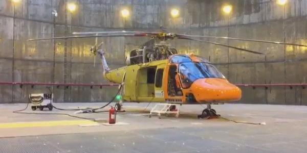 Türkiye'nin ilk yerli helikopteri T625 motor çalıştırdı