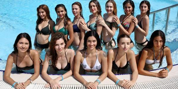 Antalya Belek'te 12 kraliçe adayı kampa girdi