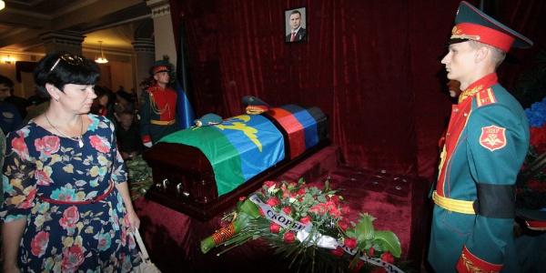Bombalı saldırıda ölen Zaharçenko'nun cenaze törenine 200 bin kişi katıldı
