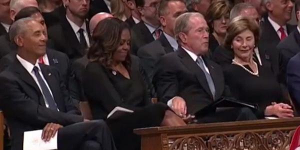 Bush'un bayan Obama'ya ne verdiği ortaya çıktı