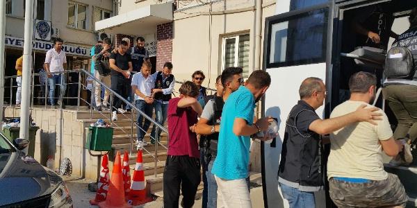 Bursa polisinden vakumlu uyuşturucu çetesine operasyon