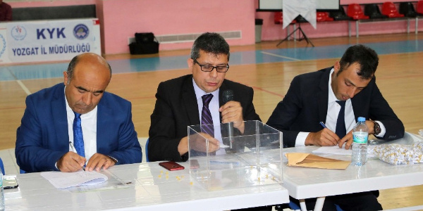 Yozgatt bin 227 kişi, 45 kişilik iş için kura heyecanı yaşadı