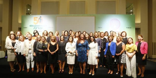 Türkiye'nin en güçlü 50 kadın CEO'su ödüllerini aldı
