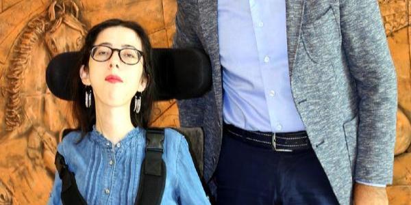 Engelli Büşra, Kız Kulesi hayalini gerçekleştiren NEVÜ'ye öğrenci oldu