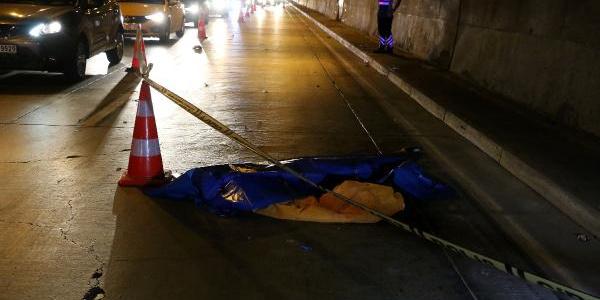 Kağıthane Tüneli'nde kaza: 1 ölü, 1 yaralı