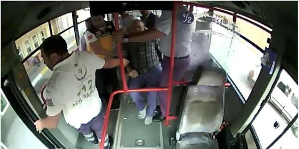 Yolcu sara nöbeti geçirince halk otobüsü şoförü güzergah değiştirdi